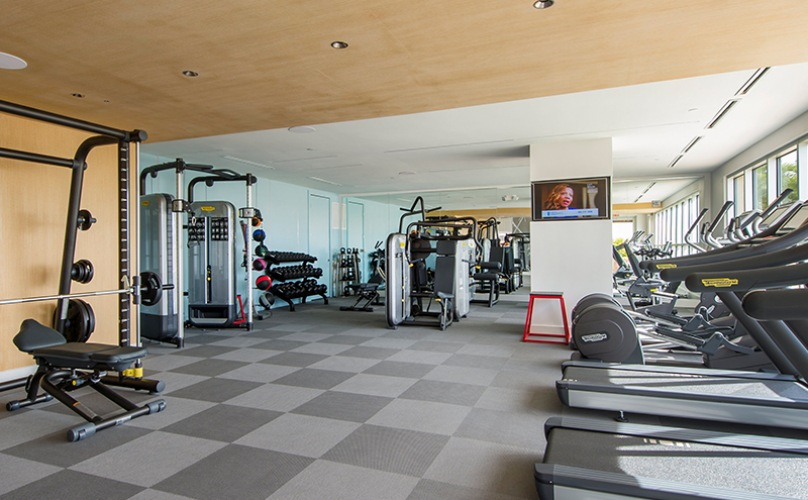 Large Fitness Center